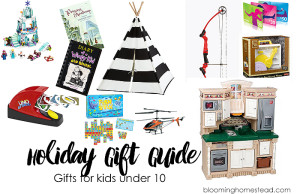 Gift Ideas for Kids under 10
