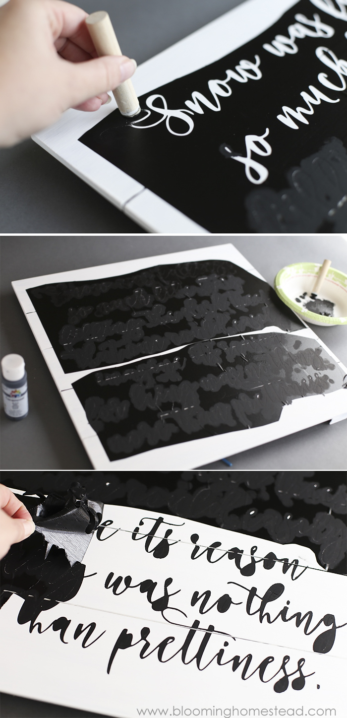 Want to learn how to make custom diy artwork at home? Check out this step by step tutorial and create your own typographic art at a fraction of the cost!