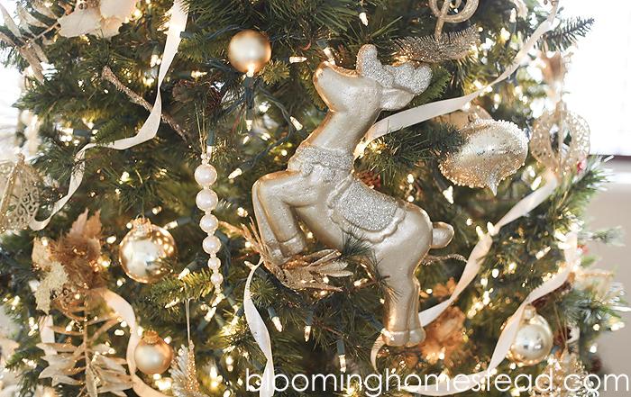 Jumbo Reindeer Ornament