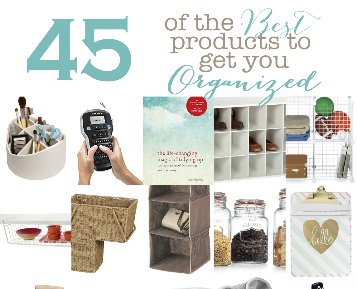 45 Organizational product collage