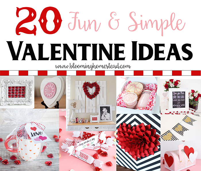 20 Fun and Simple Valentines Ideas