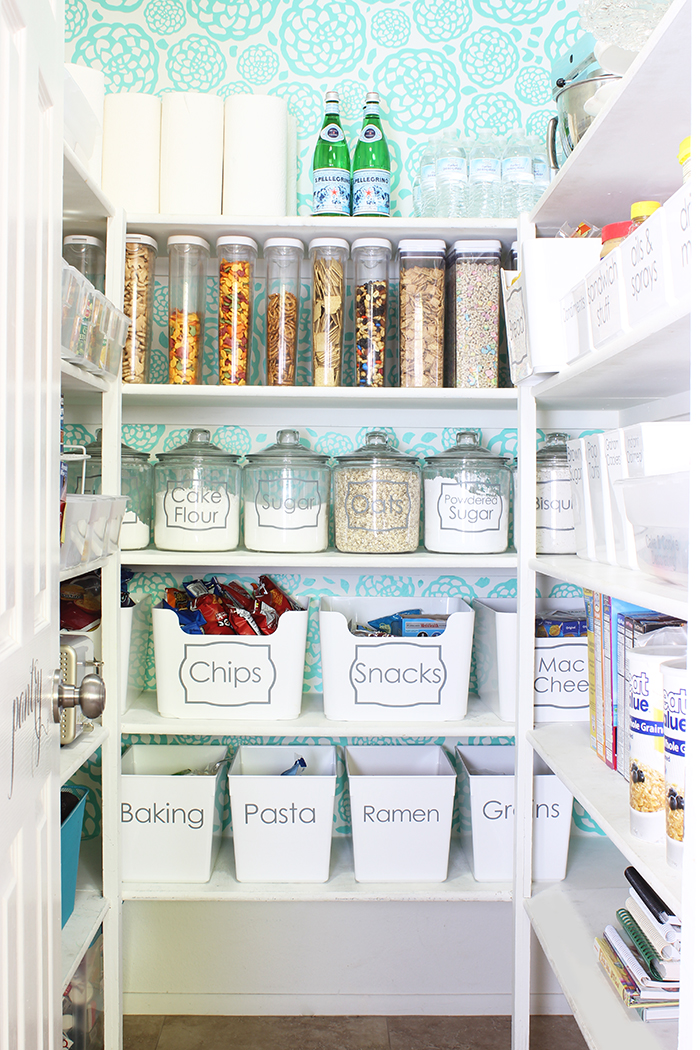 Classy Clutter Pantry