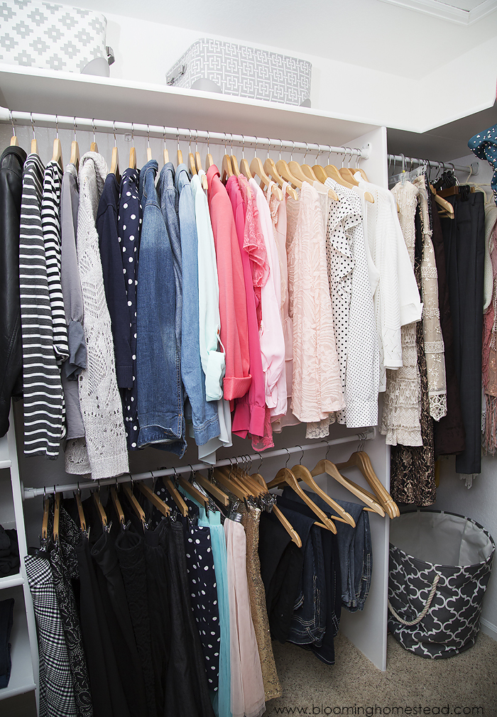 Closet Organization Tips to help you keep your space in order by Blooming Homestead
