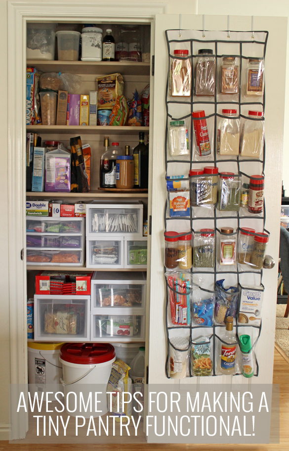 Pretty Providenceawesome-tips-for-making-a-tiny-pantry-functional