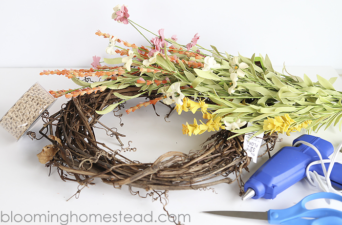 Spring Floral Wreath copy