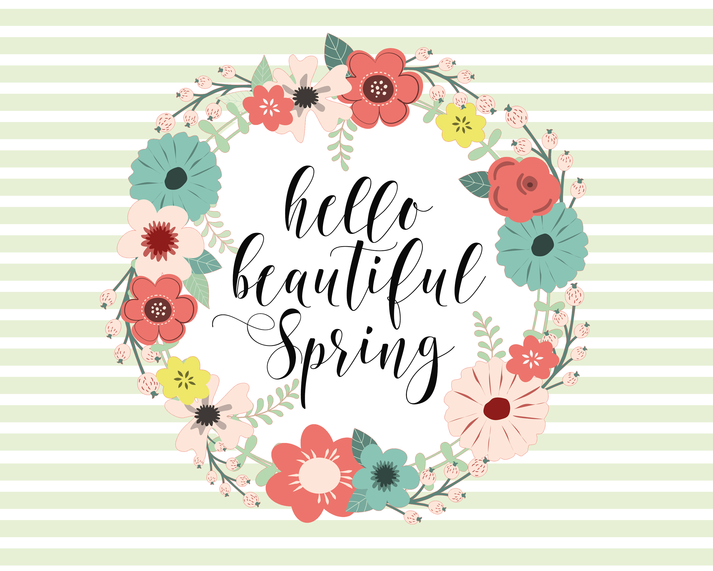 Spring Home Decor Printable