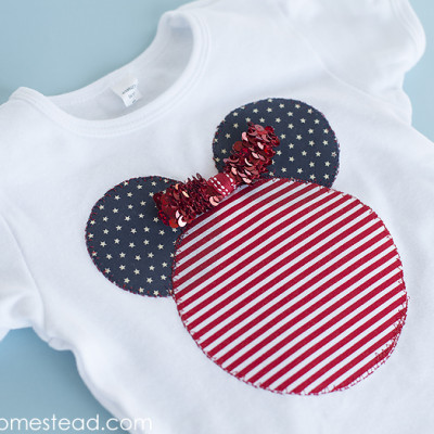 Disney Inspired Patriotic Shirt