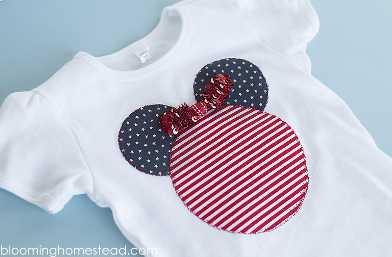 DIY Disney inspired Patriotic shirt