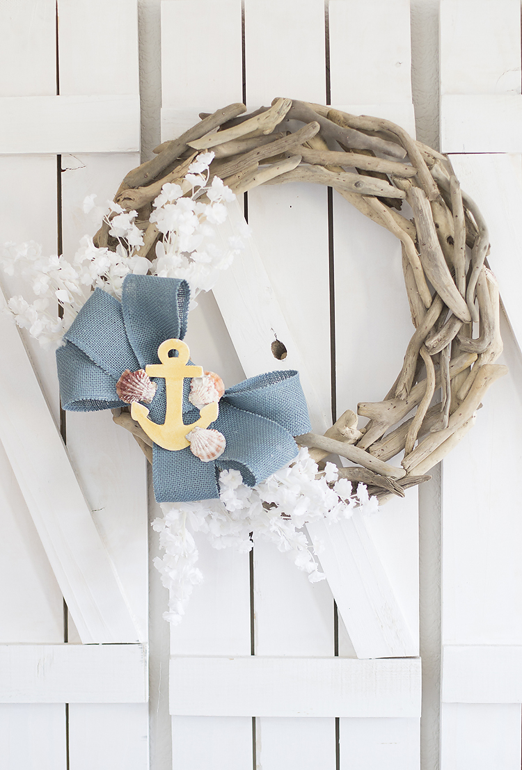 Beachy DIY Wreath