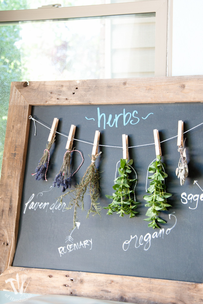CCDIY-Rustic-Chalkboard-Herb-Drying-Rack-12