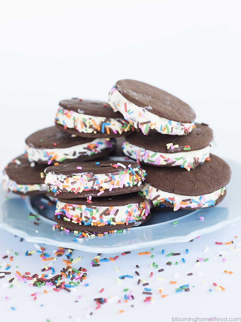 Learn how to make these delicious Homemade Ice Cream Sandwiches! So delicious and so easy, we'll walk you through step by step.