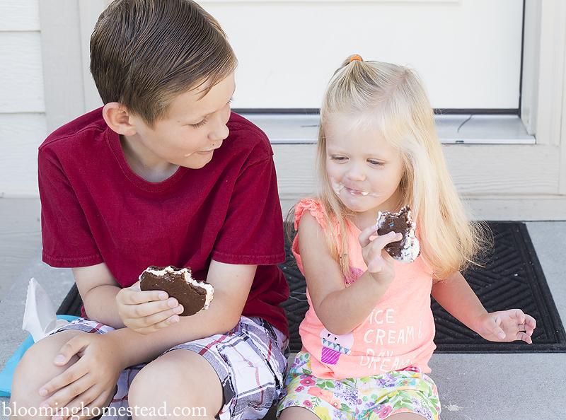 kids enjoying ice cream copy