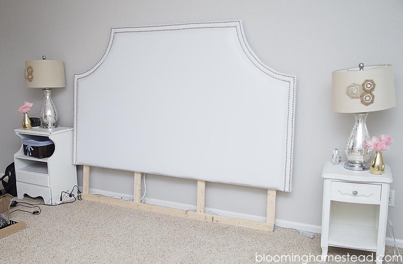 DIY Headboard1 by Blooming Homestead