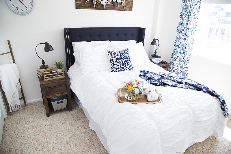 Modern Farmhouse Guest Bedroom Makeover copy