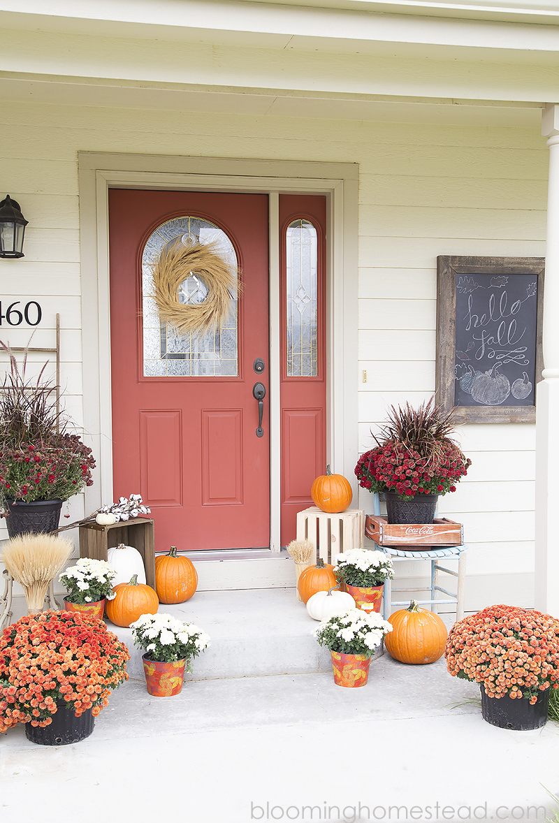 Beautiful Fall Porch Decor