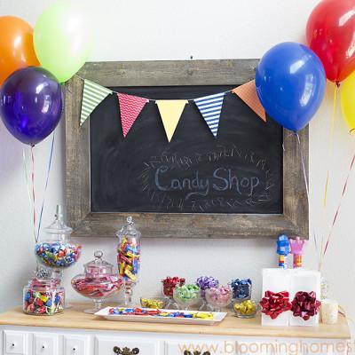 Birthday Candy Shop