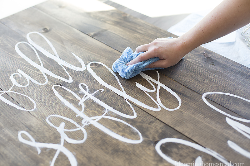gently-wash-off-excess-chalk