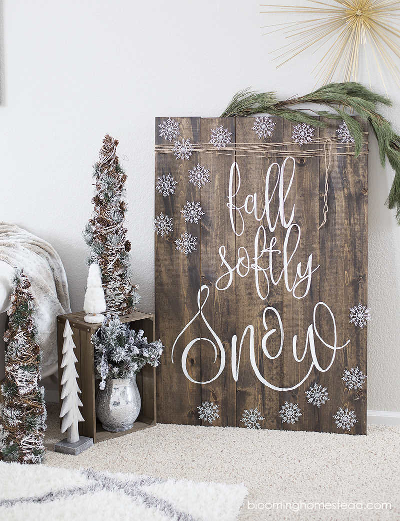 fall-softly-snow-sign