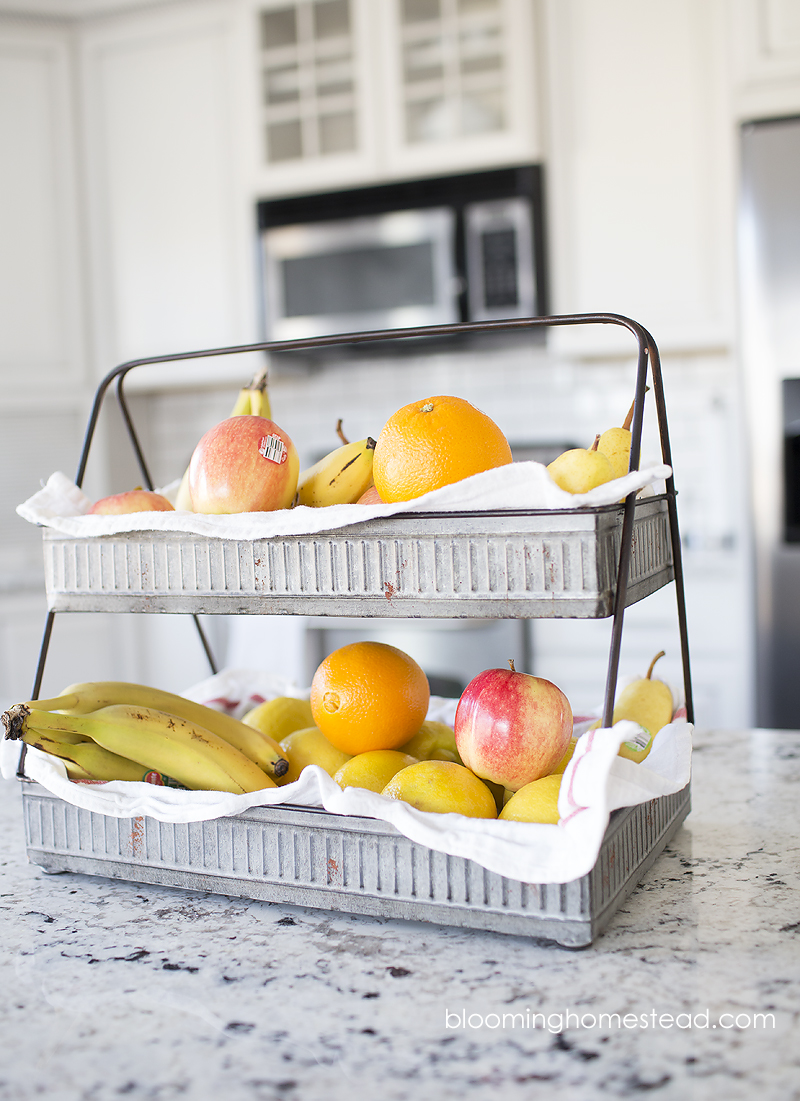 Beautiful Galvanized Tiered tray