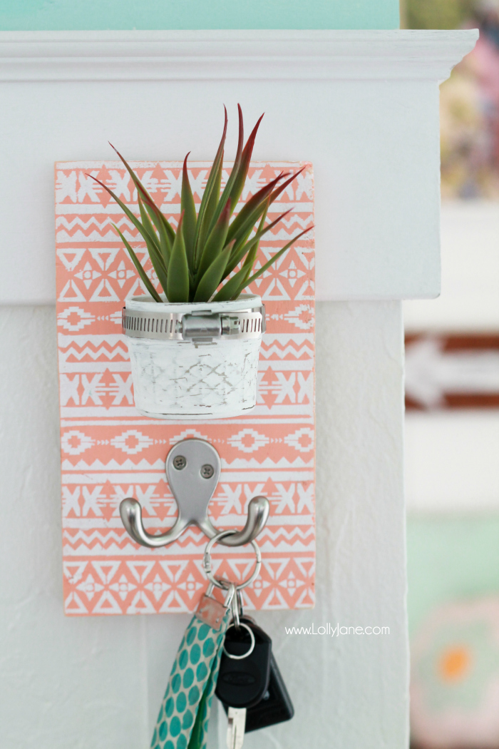 DIY-Stenciled-Succulent-Mason-Jar-Key-Holder-Lolly-Jane