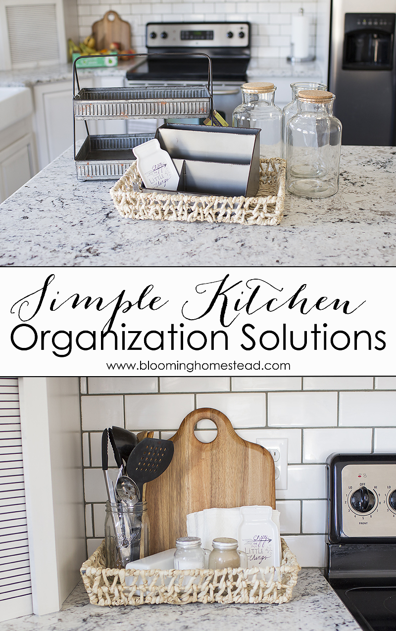 Easy Kitchen Organization Solutions