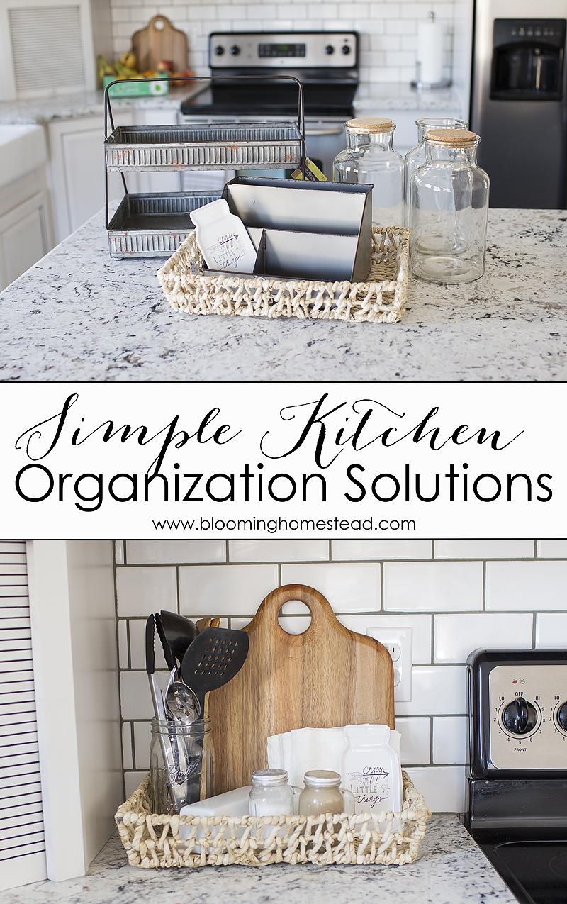 Easy Kitchen Organization Solutions