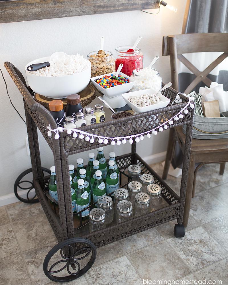 Colebrook Bar Cart