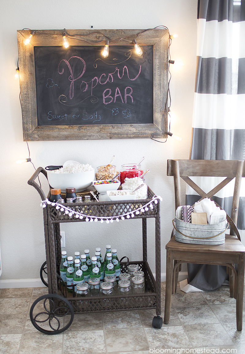 Popcorn Bar by Blooming Homestead