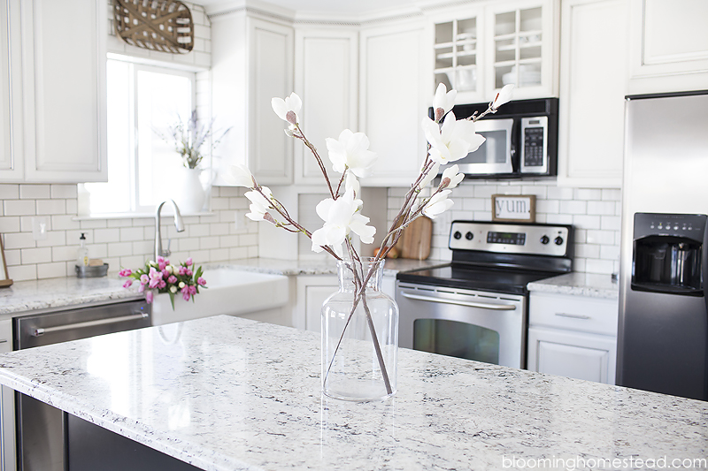 Pretty kitchen centerpiece