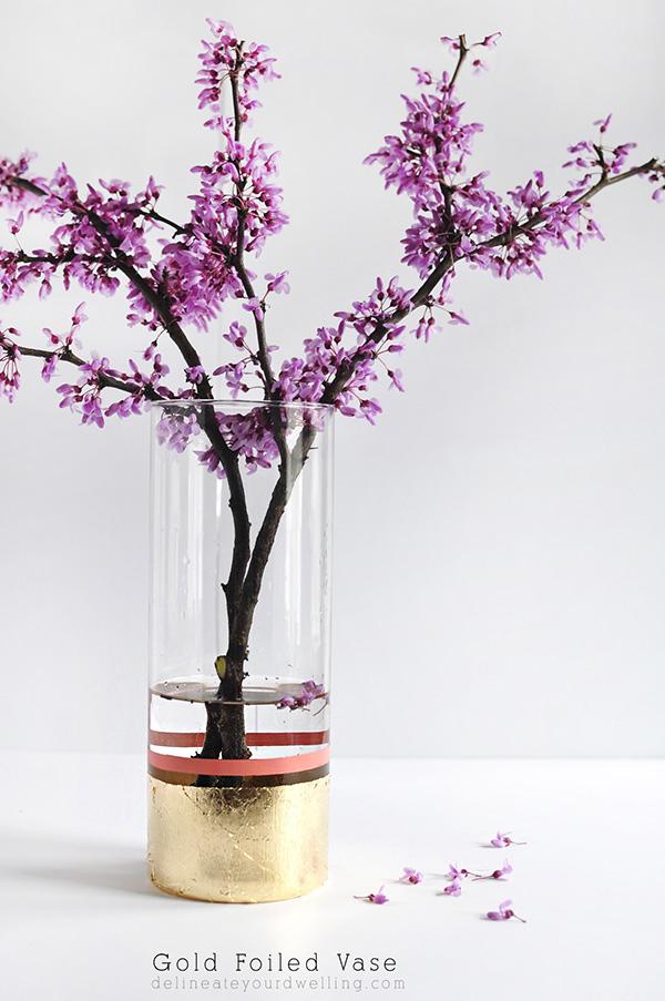DIY-Gold-Foil-Vase