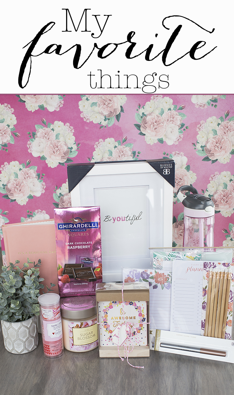 Just sharing a few of my favorite things for Spring.