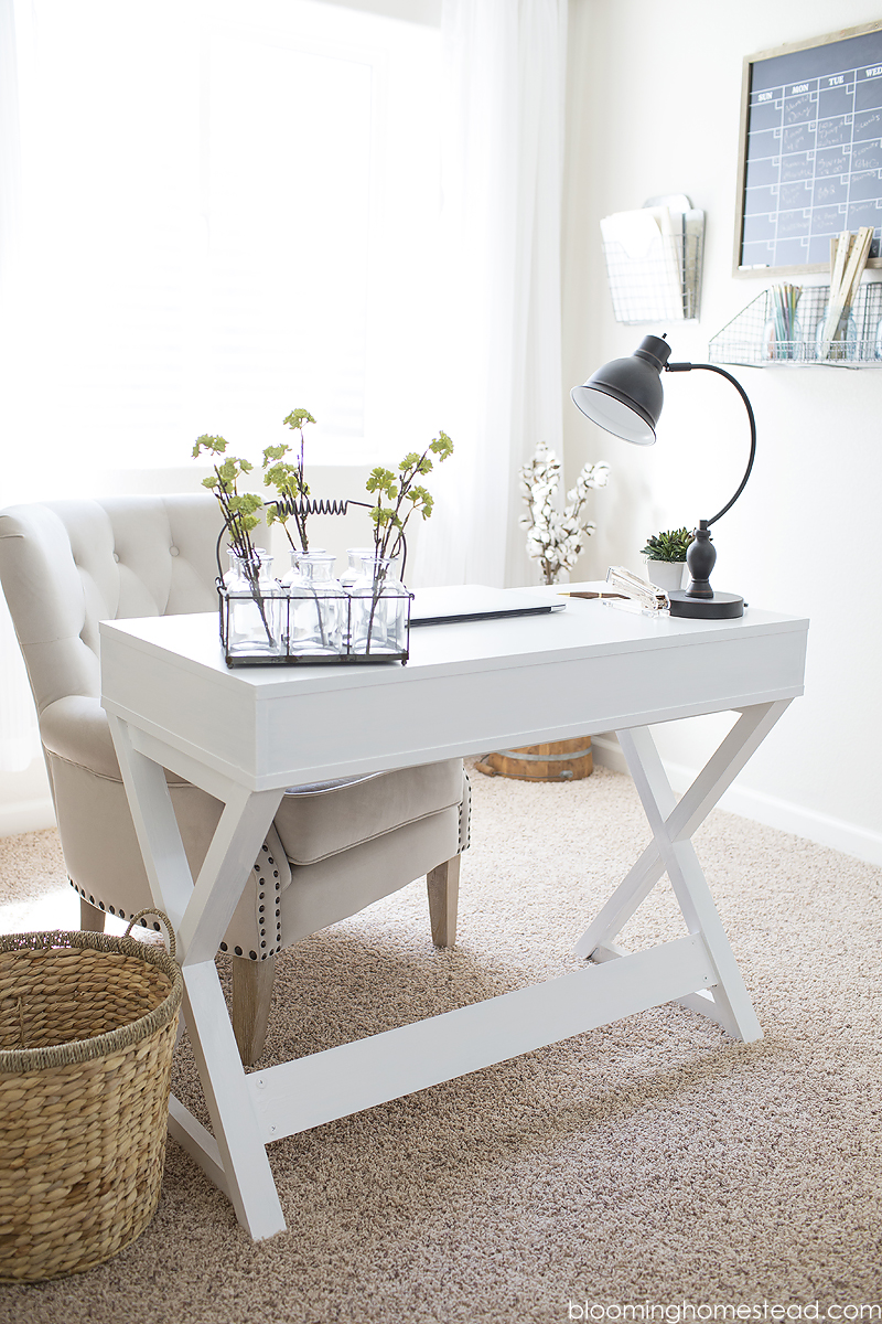 Easy Desk Makeover