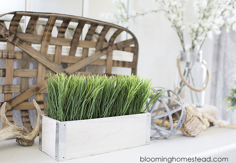 Faux Grass Decor