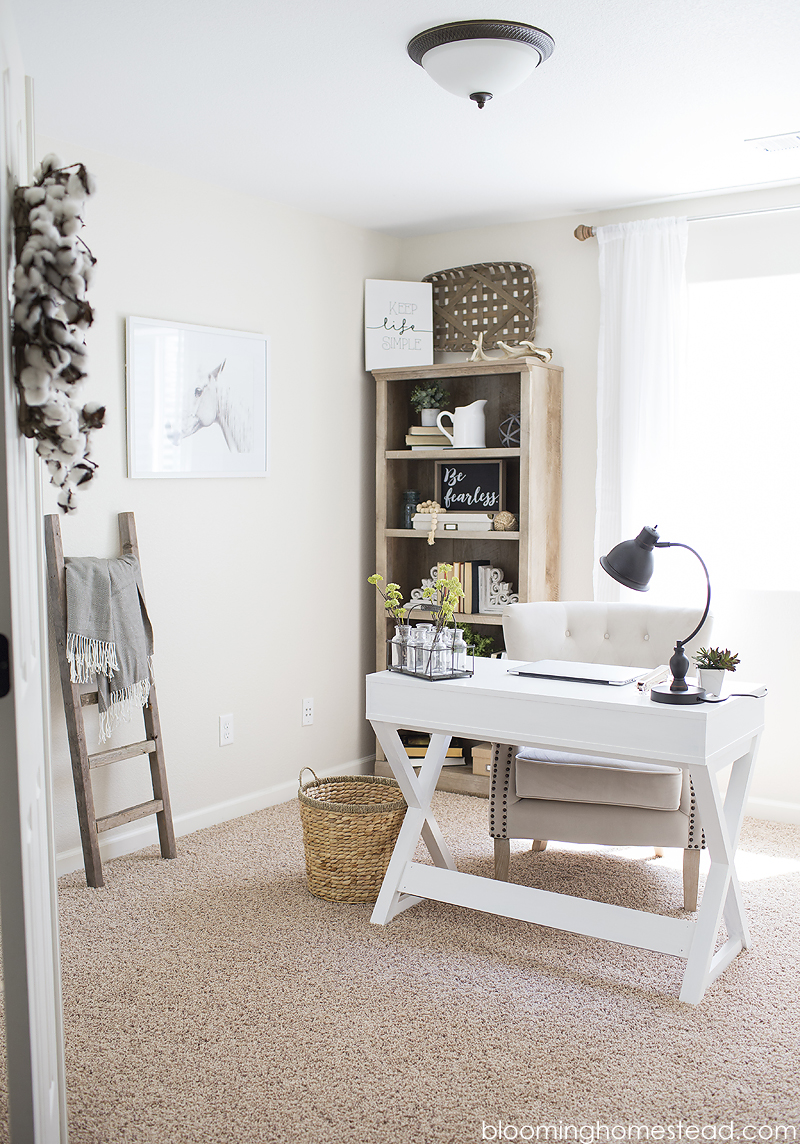 Simple Office Makeover