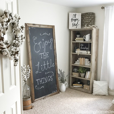 DIY Chalkboard for Office