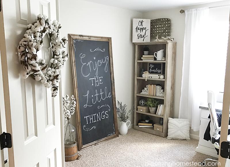 DIY Chalkboard for Office