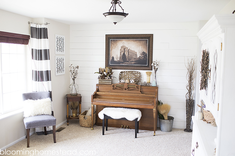 Front Room Fall Home Decor