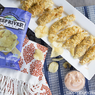 Kettle Chip Crusted Chicken