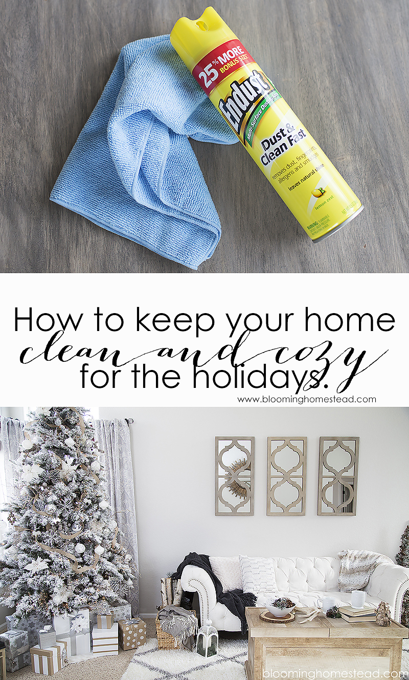 How to keep your home clean and cozy for the holidays