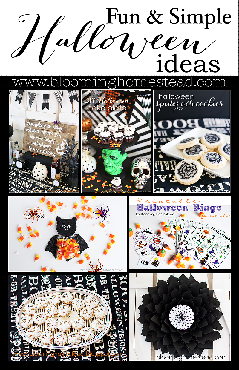 Fun and Simple Halloween Ideas to make your holiday spooktacular!