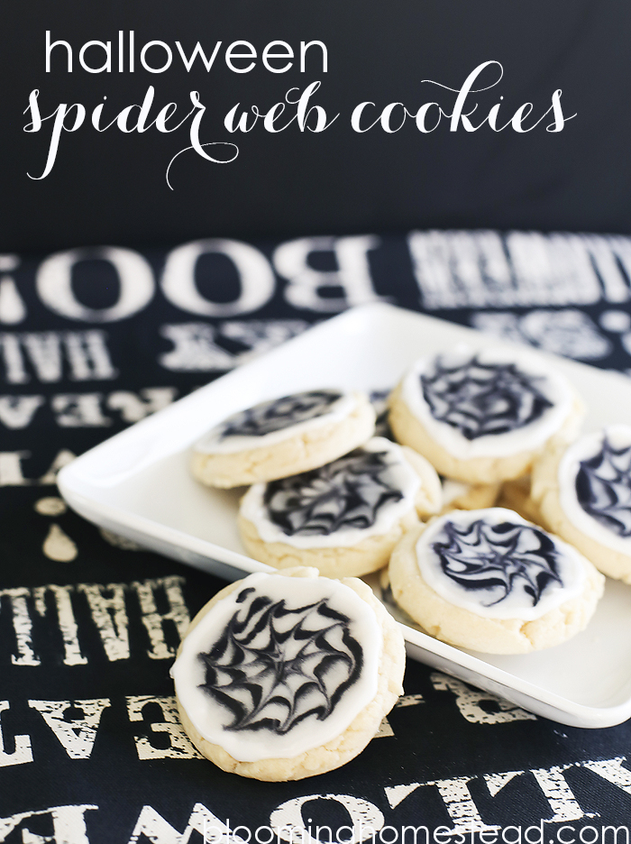 Halloween-Cookies-by-Blooming-Homestead-Fun and Simple Halloween Ideas