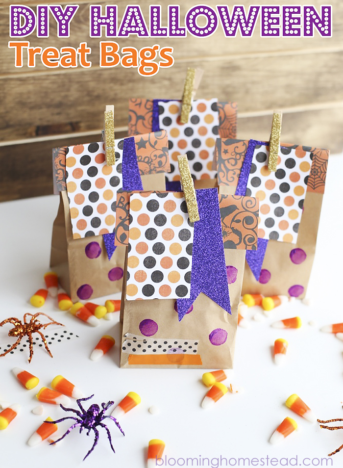 Halloween-Treat-Bags-Fun and Simple Halloween Ideas