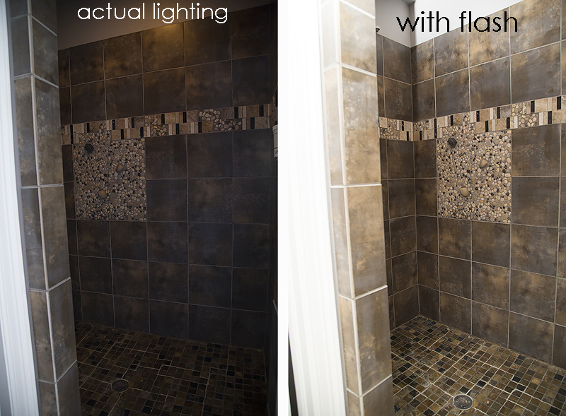 Rustic Master Bathroom style